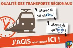 Transports régionaux en PROVENCE-ALPES-COTE D'AZUR : Marre de patienTER ? Avec l'UFC-Que Choisir, agissez !