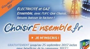 ÉNERGIE MOINS CHÈRE ENSEMBLE : OBTENONS DE NOUVEAU LES MEILLEURES OFFRES ÉLECTRICITÉ ET GAZ