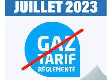 LA FIN DU TARIF RÈGLEMENTÉ DE GAZ NATUREL